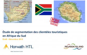 ÉTUDE DE SEGMENTATION DES CLIENTÈLES TOURISTIQUES EN AFRIQUE DU SUD
