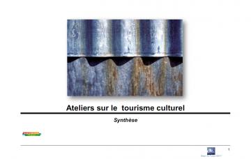 Synthèse ateliers de créativité tourisme culturel
