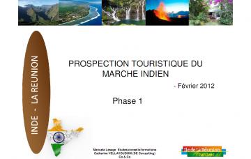 Prospection touristique du marché indien - Phase 1