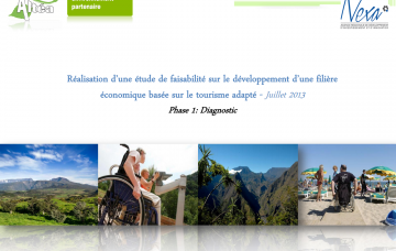 Le tourisme adapté - Phase 1 : Diagnostic