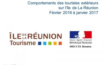 Étude sur les comportements des touristes extérieurs à La Réunion - 2016/2017