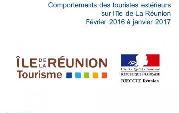 Étude sur les comportement des touristes extérieurs à La Réunion